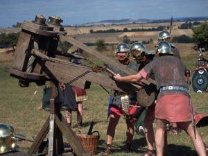 Punainen hame oli Roomassa miehekäs vaate.