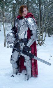 Kuva 6. Keskiaikana yleistyi erittäin raskas jalkaväki eli ritarit. Musketit kuitenkin lopettivat ritarikauden.