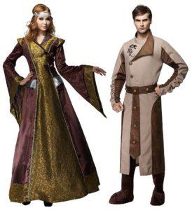 Keskiaikaista kauneusihannetta.